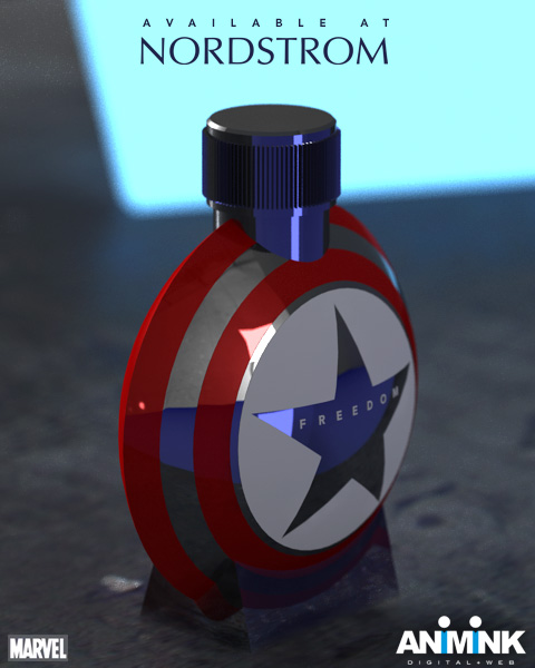 Animink - Captain America Cologne