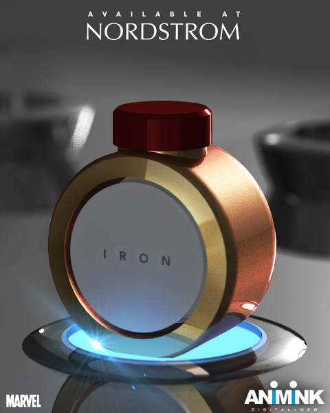 Animink - Iron Man cologne