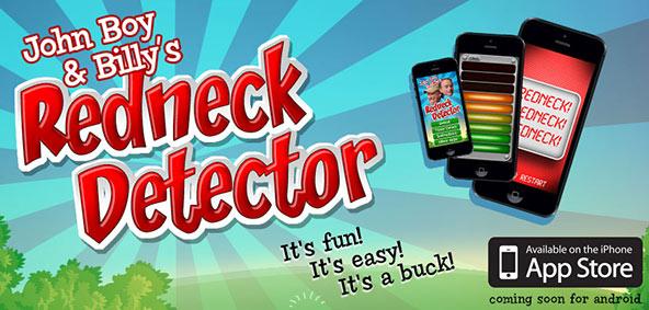 The John Boy & Billy Redneck Detector App Created by Animink