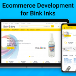 Ecommerce Development for Bink Inks
