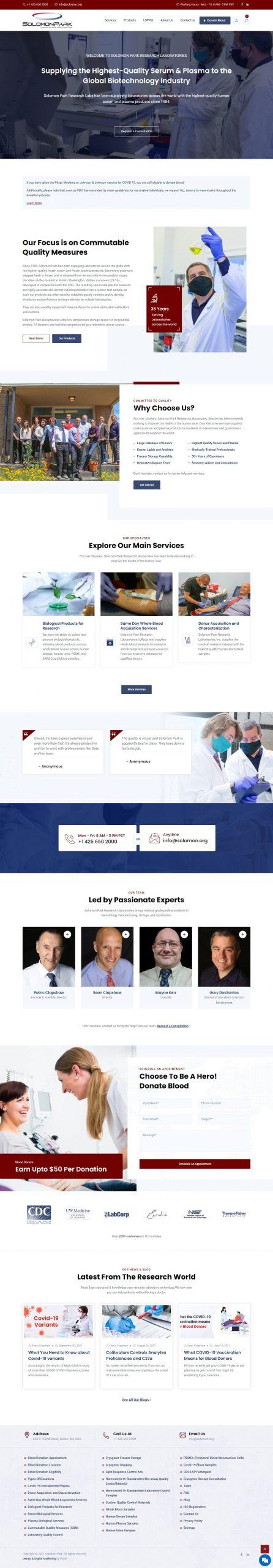 solomon home page